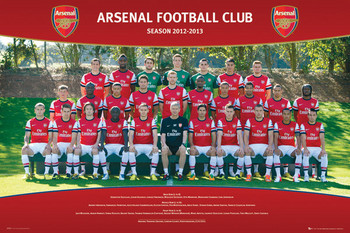 Arsenal - Team photo 12/13 Poster