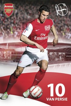 Arsenal - van persie 2011/2012 Poster