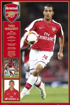 Arsenal - walcott 08/09 Poster