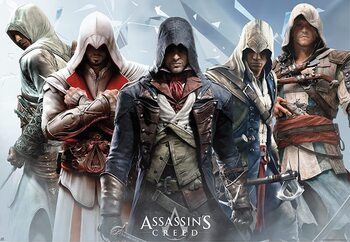 Assassin's Creed - Group Poster