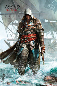 Assassin's creed 4 - shore Poster