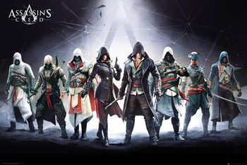 Assassin's Creed - Characters Poster, Art Print