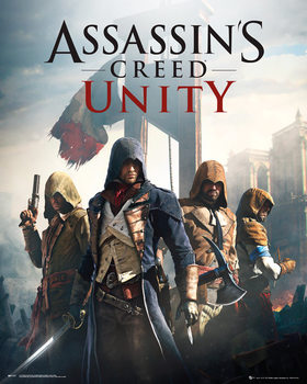 Assassin's Creed Unity - Cover Poster, Art Print