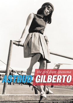 Poster  Astrud Gilberto - The Girl from Ipanema, London Heathrow Airport 60s