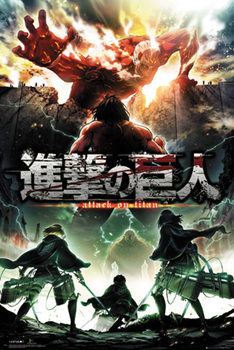 Attack On Titan - Key Art Poster