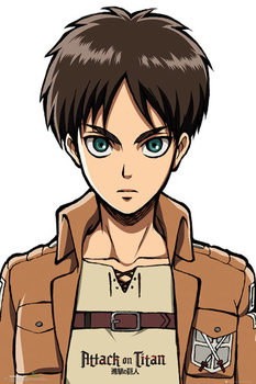 Pôster Attack On Titan (Shingeki no kyojin) - Eren