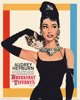 98aea3feb11 AUDREY HEPBURN breakfast at tiffany s. Sold out. Poster