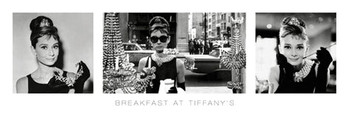 Pôster Audrey Hepburn - breakfast at tiffany's