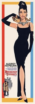 Poster AUDREY HEPBURN - breakfast at tiffany's