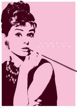 4327a31b4a8 AUDREY HEPBURN cigarello. Sold out. Poster