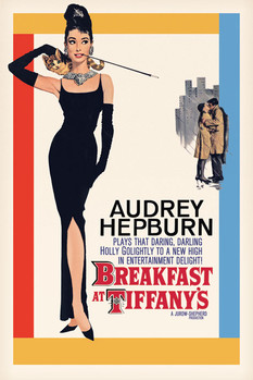 AUDREY HEPBURN - one sheet Poster, Art Print
