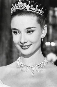 Audrey Hepburn - roman holiday Poster