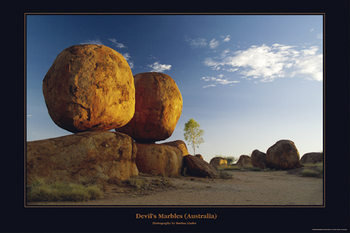 Australia - Devil's Marbles Poster