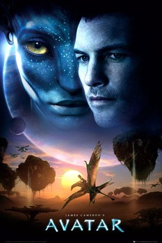 AVATAR limited ed. - one sheet sun Poster, Art Print