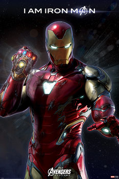 Poster  Avengers Endgame - I Am Iron Man