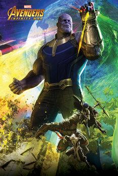 Poster  Avengers Infinity War - Thanos