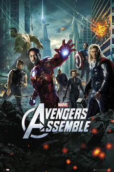 AVENGERS - one sheet Poster, Art Print