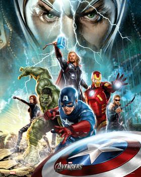 AVENGERS - power Poster