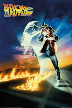 Poster Back To The Future - Key Art