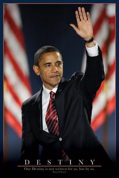 Barack Obama - osud Poster