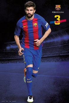 Poster Barcelona 2016/2017 - Gerard Piqué