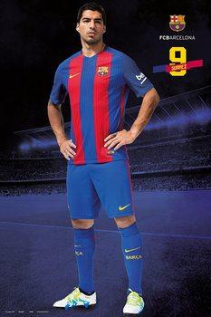 Barcelona 2016/2017 - Luis Suárez Poster