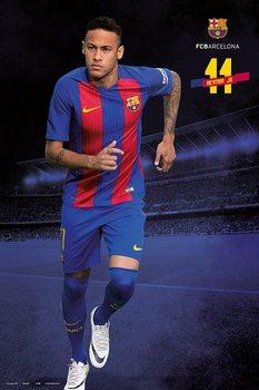 Poster Barcelona 2016/2017 - Neymar