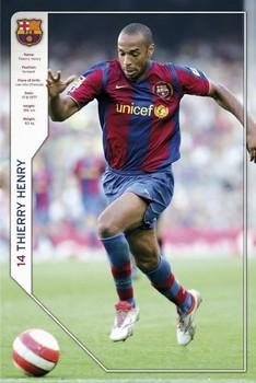 Barcelona - Henry 07/08 Poster