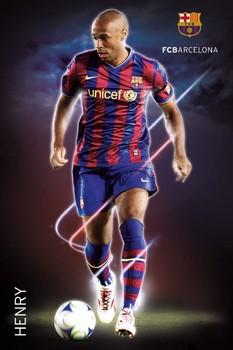 Barcelona - henry 09/10 Poster