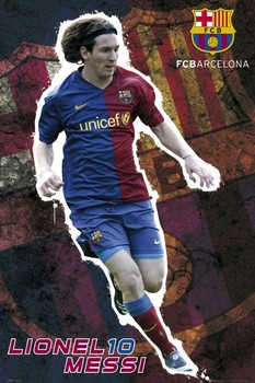 Barcelona - Messi 08/09 Poster