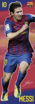 Barcelona - Messi 11/12 Poster