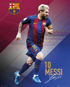Poster Barcelona - Messi 2016 - 2017
