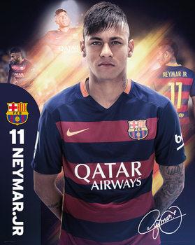 Barcelona - Neymar 15/16 Poster