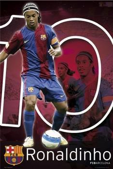 Barcelona - Ronaldino 06/07 Poster