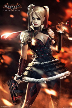 Batman Arkham Knight - Harley Quinn Poster, Art Print