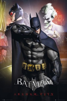 Poster BATMAN - arkham man main