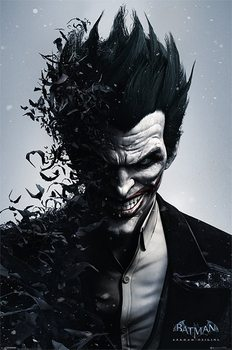 Pôster BATMAN ARKHAM ORIGINS - joker