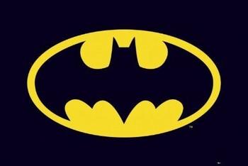 Poster BATMAN - classic logo