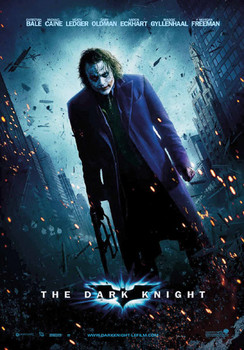BATMAN DARK KNIGHT - joker Poster, Art Print