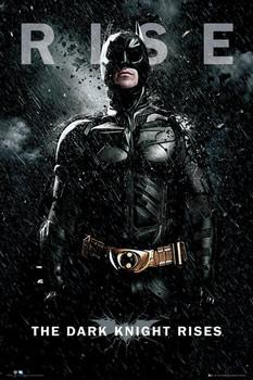 BATMAN DARK KNIGHT RISES - batman rise Poster