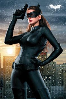 BATMAN DARK KNIGHT RISES - catwoman Poster