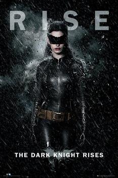 BATMAN DARK KNIGHT RISES - catwoman rise Poster