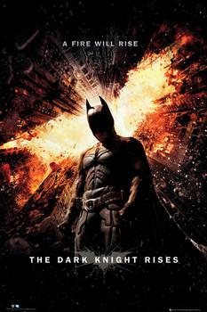 BATMAN DARK KNIGHT RISES - one sheet Poster