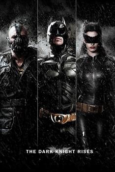 BATMAN DARK KNIGHT RISES - three Poster