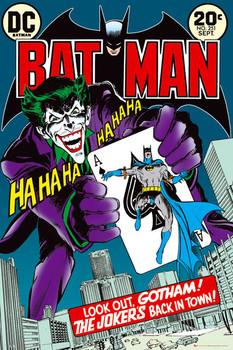 BATMAN - jokers back Poster