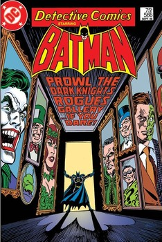 BATMAN - rogues gallery Poster, Art Print