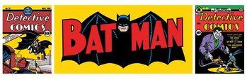 BATMAN - triptych Poster, Art Print