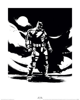 Batman V Superman - Batman Noir Art Print
