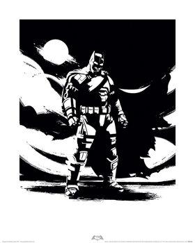 Batman V Superman - Batman Noir Art Print