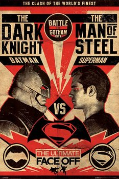 Batman v Superman: Dawn of Justice - Fight Poster Poster, Art Print